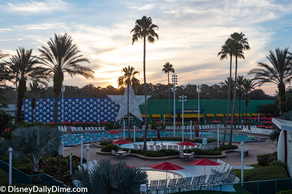 Disney's All Star Sports is one of five value resorts in all of Disney World.
