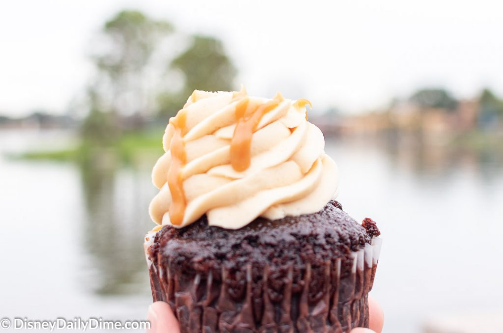 Salted Caramel Cupcake from Epcot Germany
