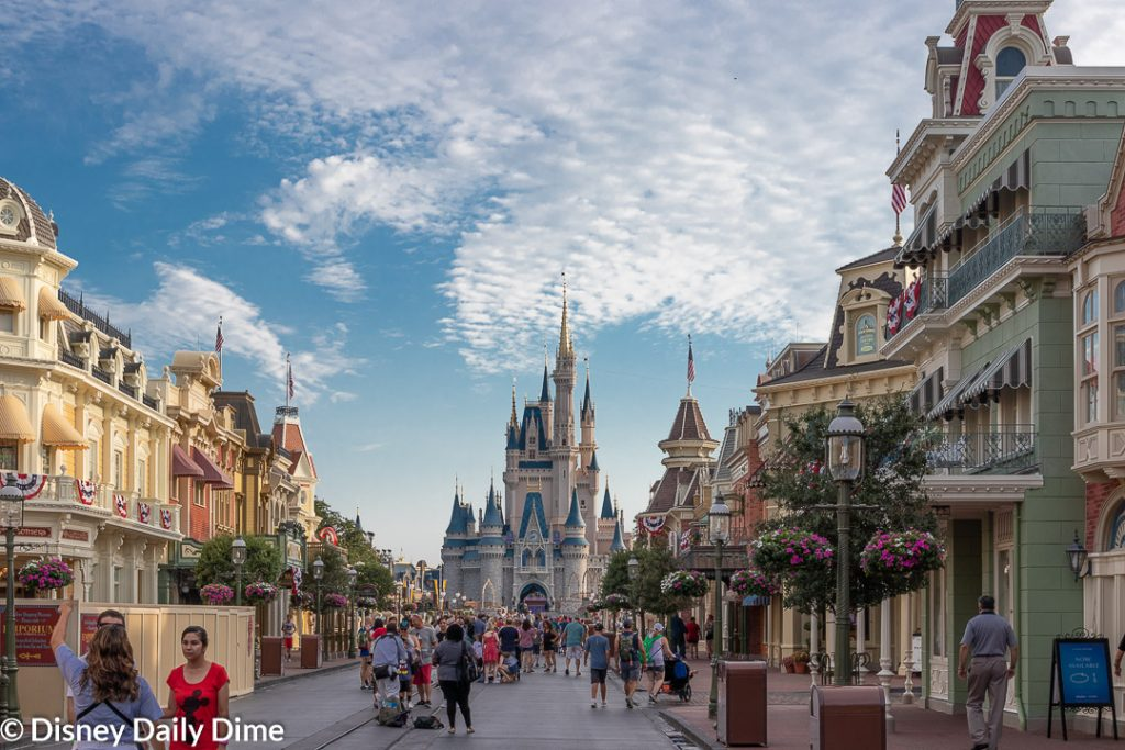 How to get into the Disney World Parks Early