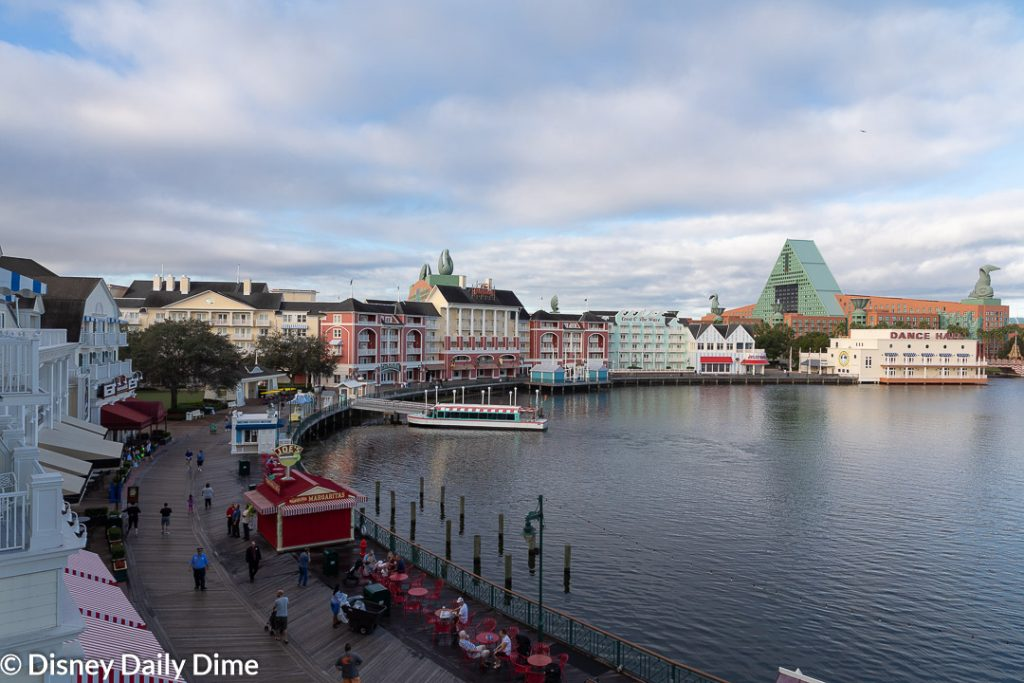 See the view from Disney's BoardWalk Inn Sonora Suite
