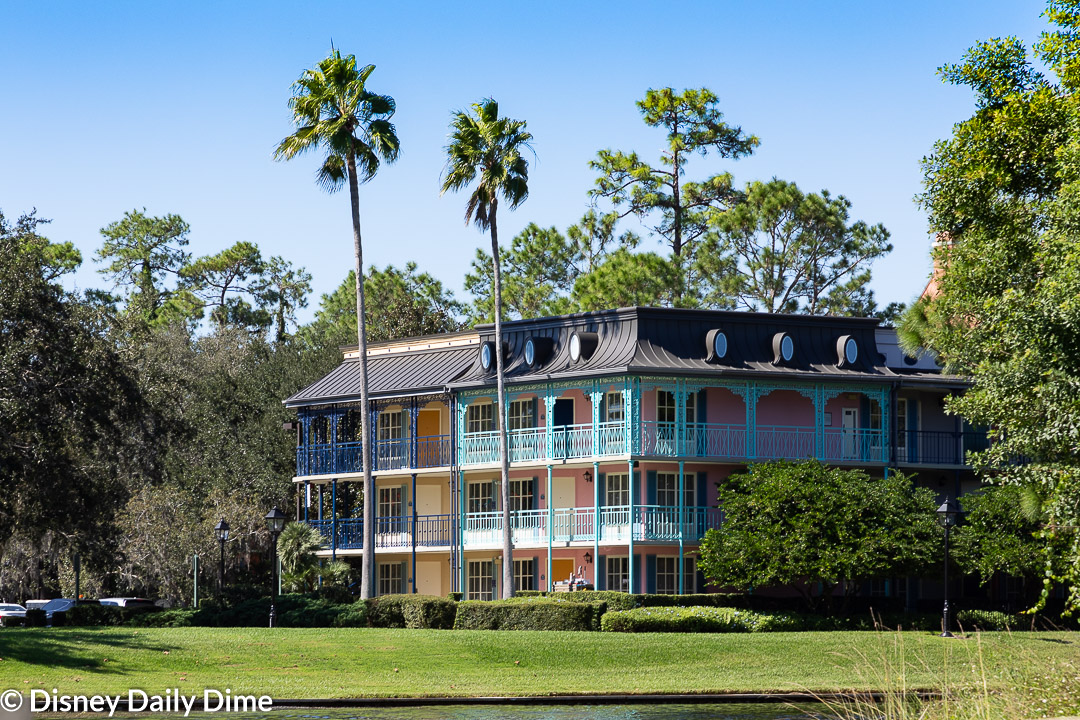 Picture of Port Orleans Resort - French Quarter from the Sassagoula River