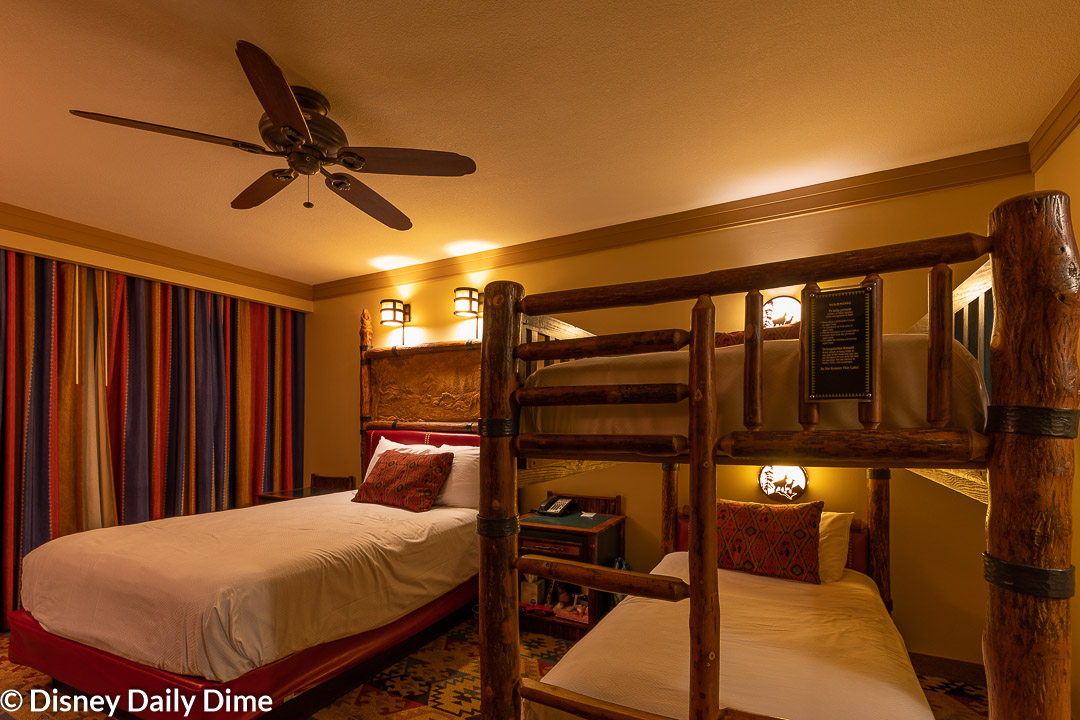 Picture of: Wilderness Lodge Bunk Bed Room Review Disney Daily Dime