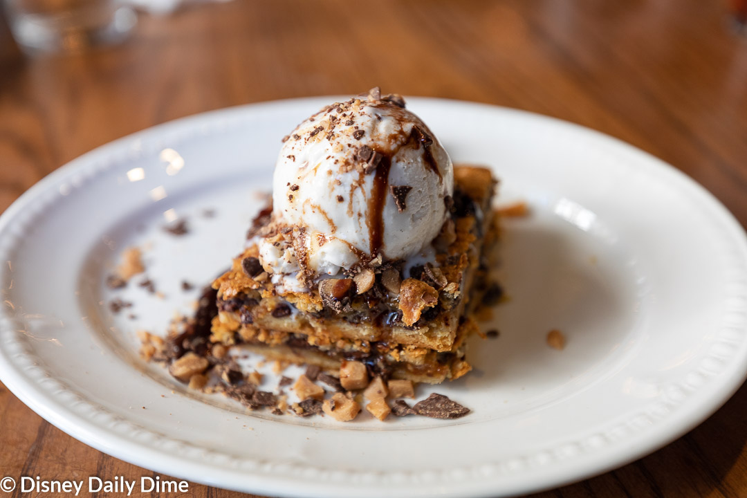 Liberty Tree Tavern's popular Ooey Gooey Toffee Cake was exellent!