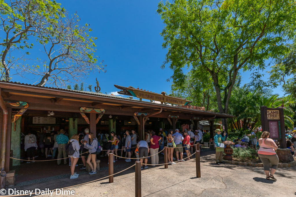 When visiting for our Flame Tree Barbecue review, we noticed that the front of the restaurant was pretty no-frills. Fortunately, the food was not!