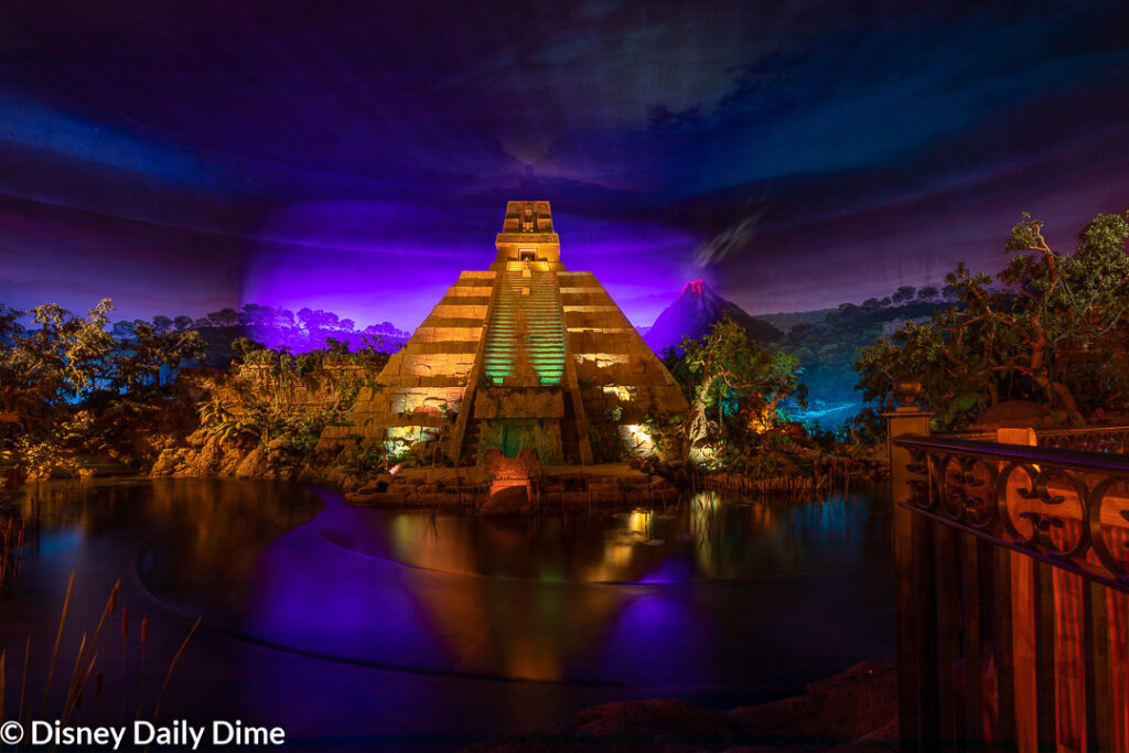 The Mayan temple and nightlife them of the restaurant is why the theme is loved so much.. The food on the other hand...