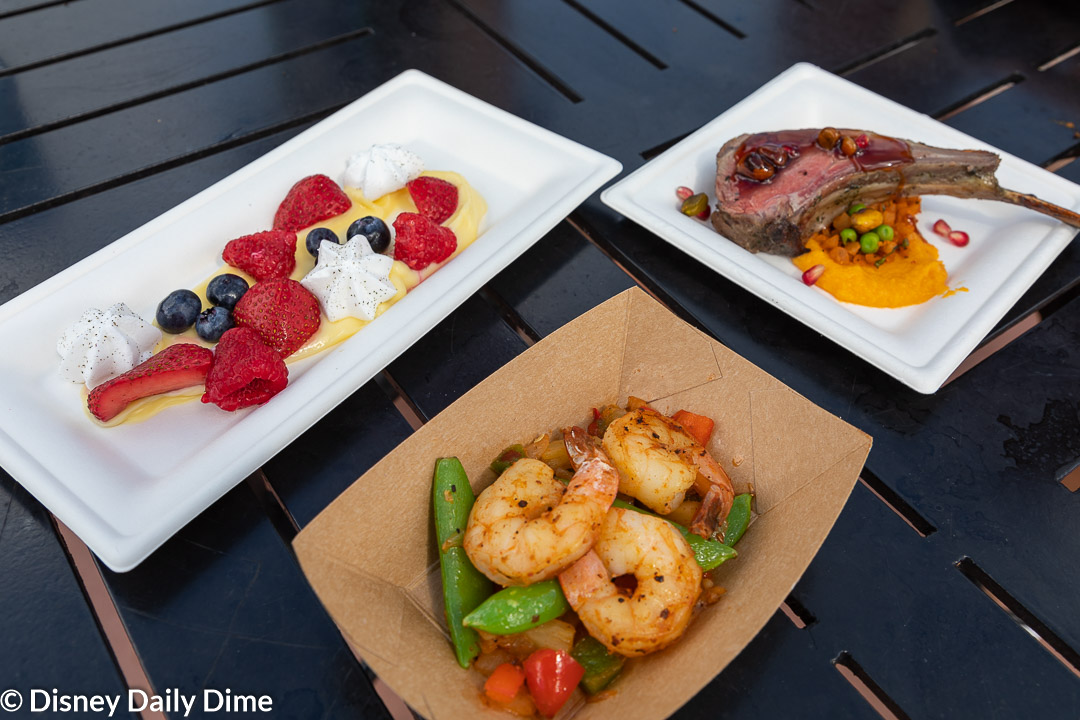 As part of our Australia review at the 2019 Epcot Food and Wine Festival we sampled all the new food items.