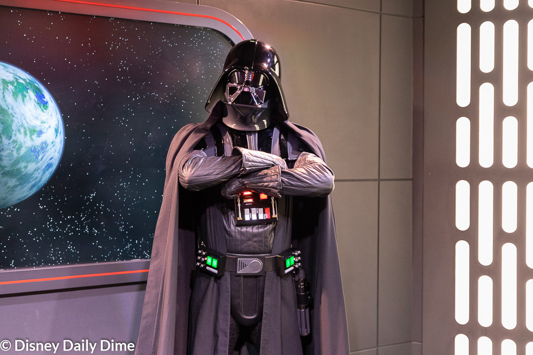 You will be able to meet Darth Vader at Star Wars Launch Bay.