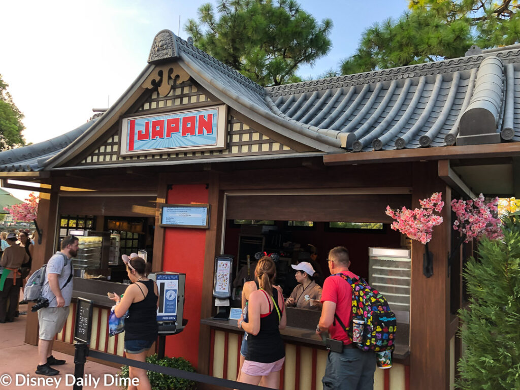 Our Japan review of the 2019 Epcot Food & Wine Festival this year brought us face to face with some interesting dishes.