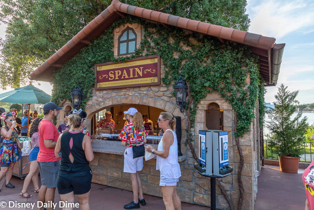 As part of our Spain review from the 2019 Epcot Food & Wine Festival, we sampled all three dishes.