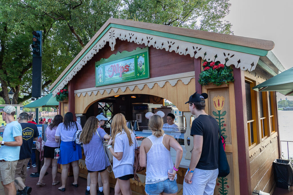 The Alps Review 2019 Epcot Food Wine Festival Disney