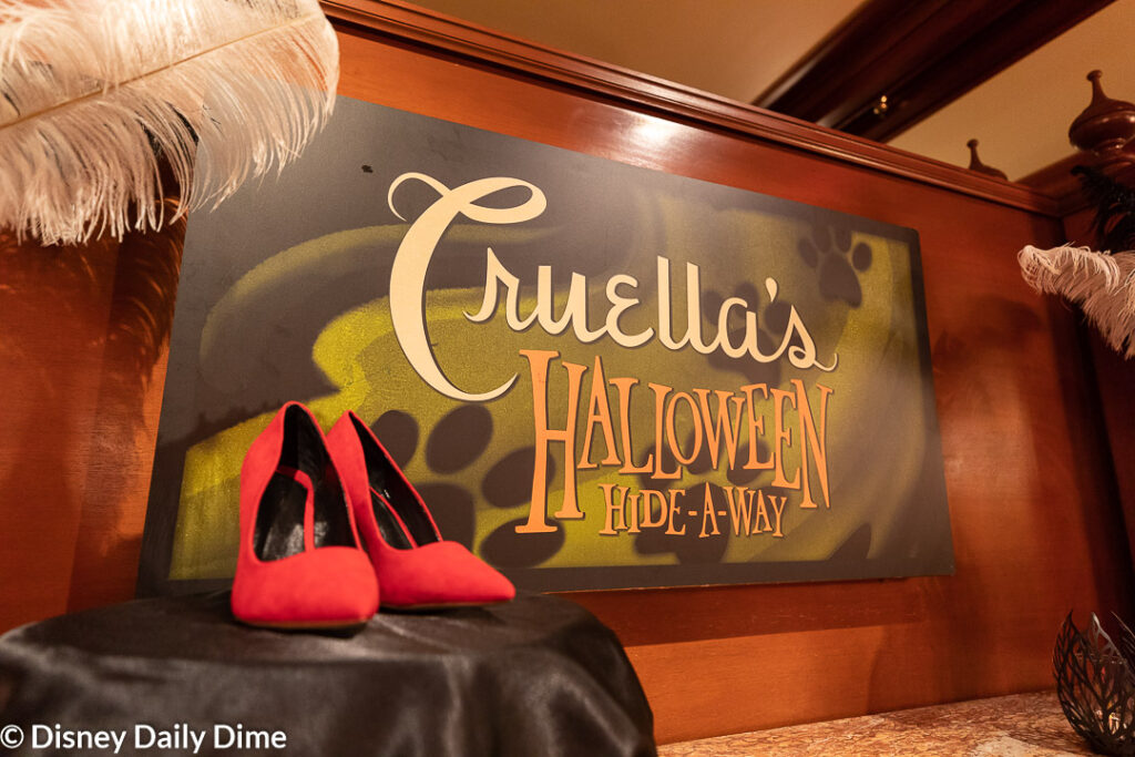 Here in our Cruella's Halloween Hide-A-Way Party Review we'll tell you all about this experience.