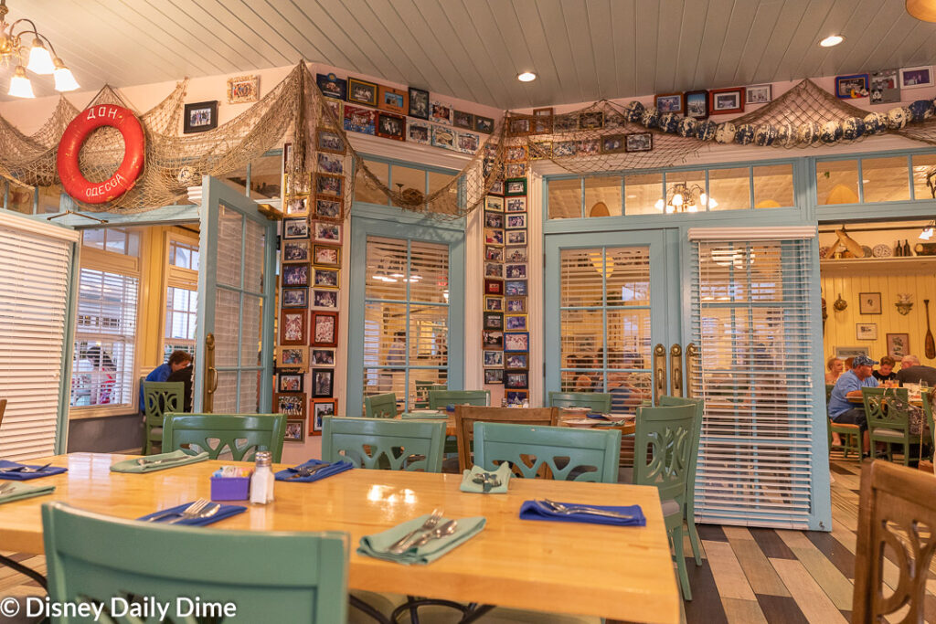 As we'll cover here in our Olivia's Café review, breakfast and dinner are both great meals to have. But on top of the meals, the restaurant is fun and homey!