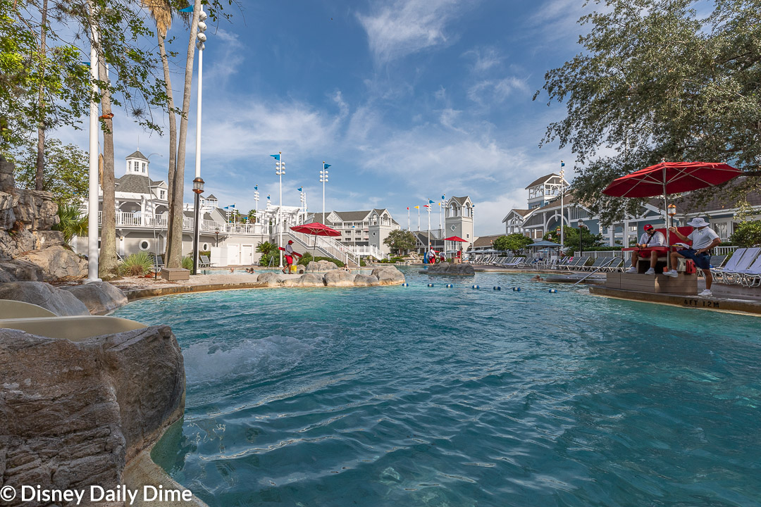 Stormalong Bay was a hit with the kids and parents when we stayed here for our Disney's Beach Club Resort review.
