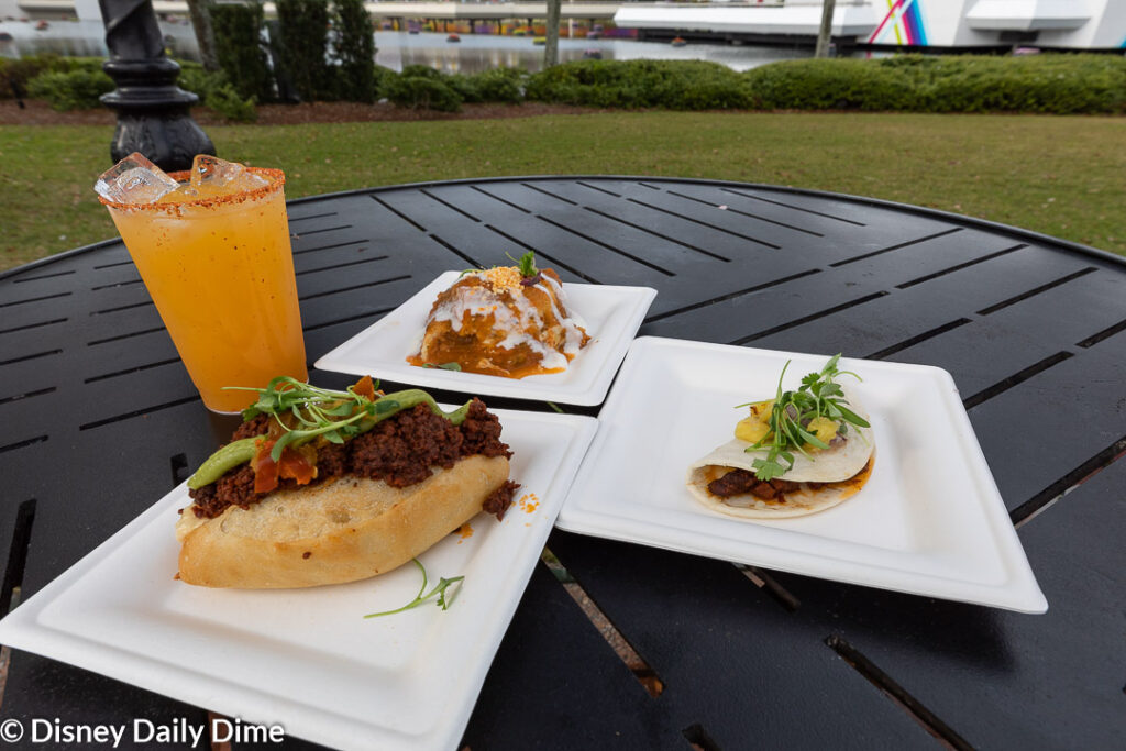 Here in our Jardin de Fiestas Review, we'll cover all the food and one drink from the Epcot Flower & Garden Festival.