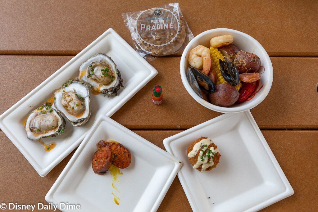 Magnolia Terrace features flavors of the South, inspired by the Gulf region.