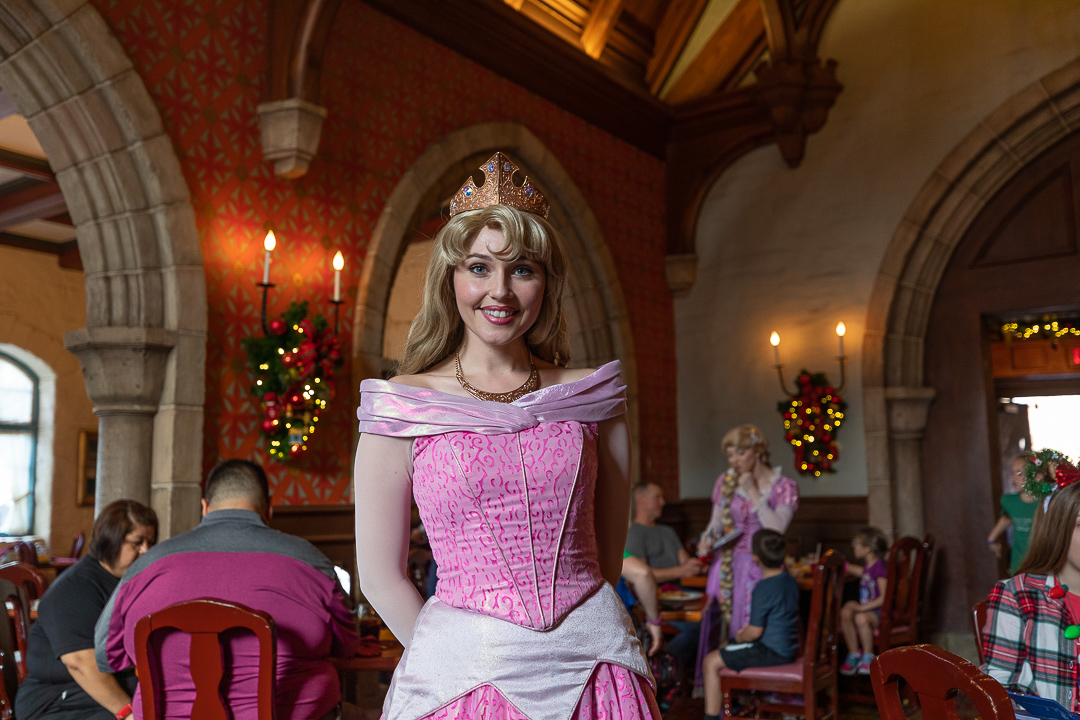 She is one of the princesses your will meet as an Akershus breakfast character.